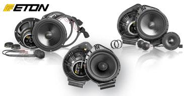ETON UPGRADE Lautsprecher für Fiat und Opel: FIAT F2.1, OPEL F2.1, OPEL RX2.1