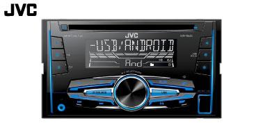 JVC KW-R520E 2-DIN Autoradio mit CD-Laufwerk
