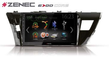 ZENEC E>GO Core Z-F6101 für Toyota Corolla