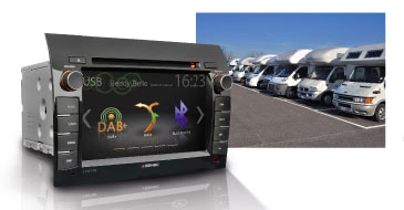 Nachrüstung Reisemobile mit ZENEC Z-E37526