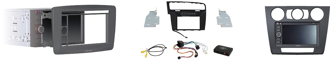 Blenden Integration Multimedia und Navigation