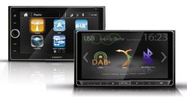 Multimediasysteme von Xzent und Zenec